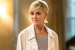 "Sharon Stone in TNT's new series ""Agent X."""