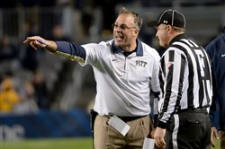 Pitt coach Pat Narduzzi's team takes on Louisville today at Heinz Field with a slim chance at winning the ACC Coastal — so slim that it might be gone by the time their game starts.
