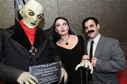 CMOA Museum of HORROR: Nosferatu and friends Adrian Predmore and Adam Cartier.