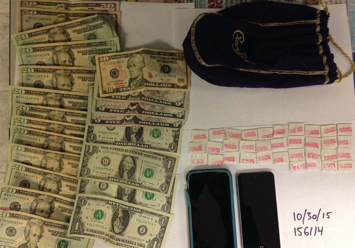 35 Stamp Bags Of Heroin Cash And Paraphernalia Seized By The Washington County Drug Task