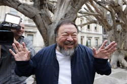 Chinese artist and activist Ai Weiwei will be at Carnegie Music Hall in Oakland on June 2.