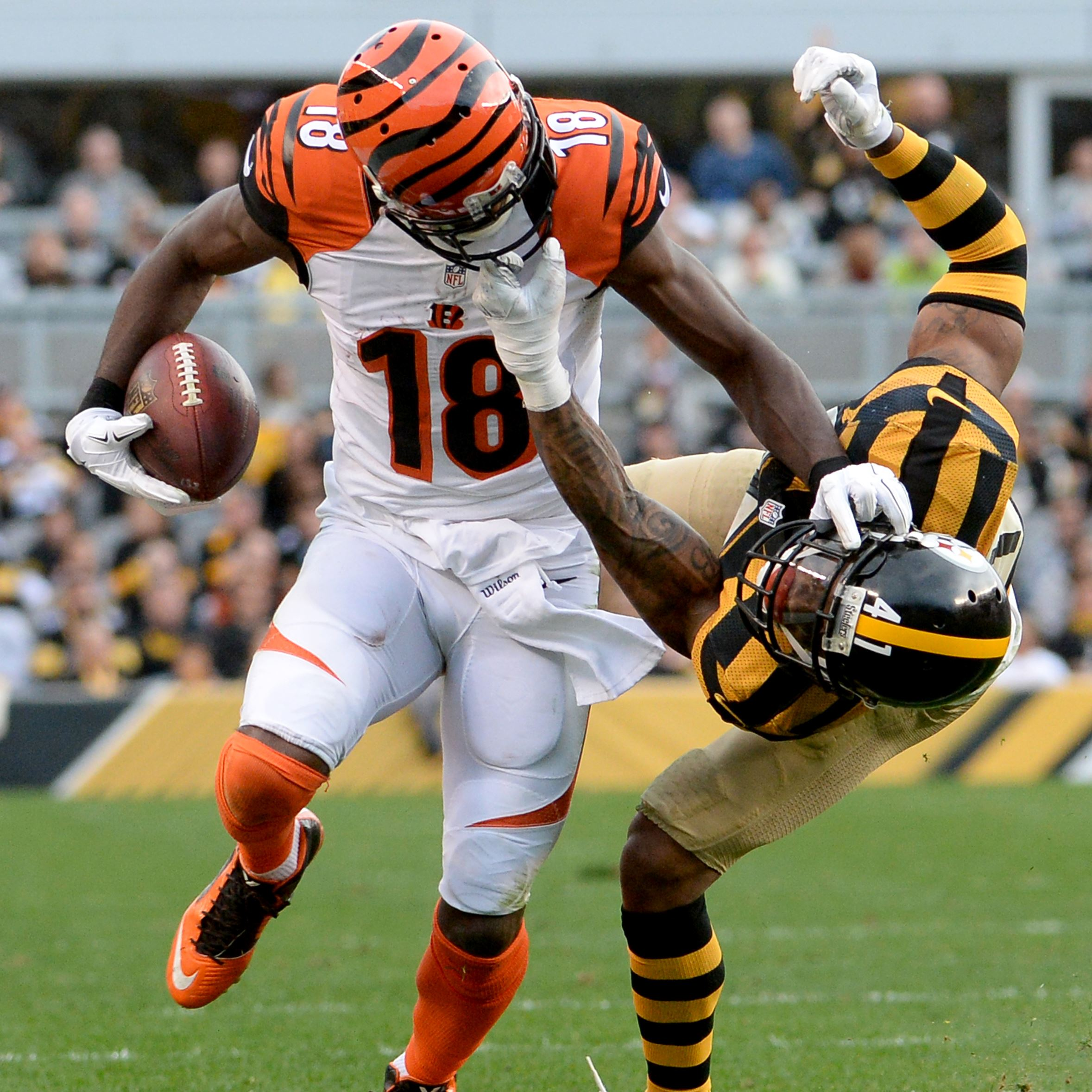bengals wr a j green is in the business of torturing cornerbacks pittsburgh post gazette. Black Bedroom Furniture Sets. Home Design Ideas