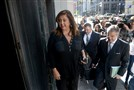 Abby Lee Miller enters the federal court building on Grant Street for a hearing in November.