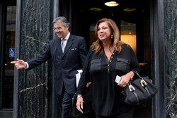 Abby Lee Miller leaves a hearing at the federal courthouse on Grant Street in 2015.