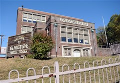 Gladstone Middle School building at 327 Hazelwood Ave.