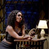"Joniece Abbott-Pratt plays Nina in City Theatre's production of ""Sunset Baby."""