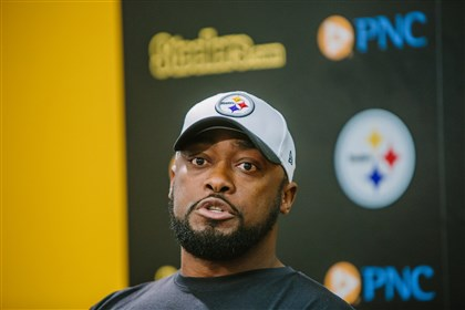 Steelers coach Mike Tomlin said Ben Roethlisberger self-reported that he was having problems with his peripheral vision, while Ryan Shazier wanted to return to the game.