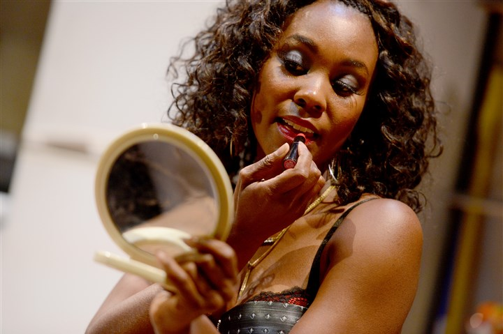 "20151103MWHplaySunMag02-1 Joniece Abbott-Pratt was Nina in Dominique Morisseau's ""Sunset Baby"" at City Theatre last year."