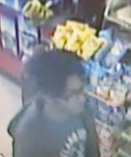 Clairton police want to question at least two people of interest, including this person above, in the shooting of a dog Tuesday morning on Davis Street.