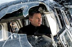 "Daniel Craig stars as James Bond in ""Spectre."""