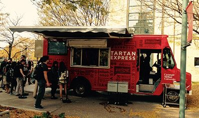 cmufoodtruck Tartan Express food truck