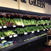 Plenty of greens: the Hill District Shop 'n Save.