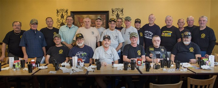 Veterans group Members of Vietnam Veterans Inc., a Pittsburgh-based nonprofit started in 1981, gather for breakfast on Thursday mornings at Gianna Via's Restaurant in the Caste Village Shops in Whitehall.