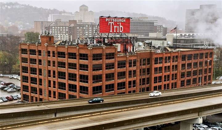 20151110dsTribBuilding2 Last week, Trib Total Media Inc., parent company of the Pittsburgh Tribune-Review, asked Judge Kathleen A. Durkin, of the Allegheny County Court of Common Pleas, to enter an order protecting its financial information from disclosure.