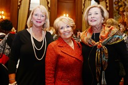 Peggy Snavely, Carol Massaro and Susan Fitzsimmons.