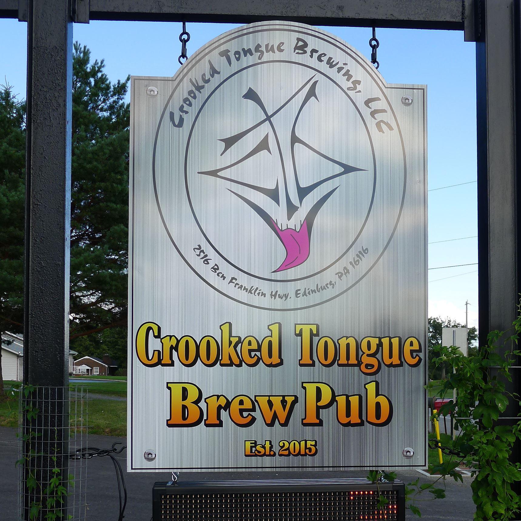 P1250994-8 Crooked Tongue Brewing in Edinburg, PA.