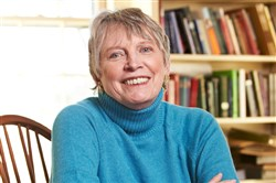 Author Lois Lowry at her home in Cambridge, Mass.