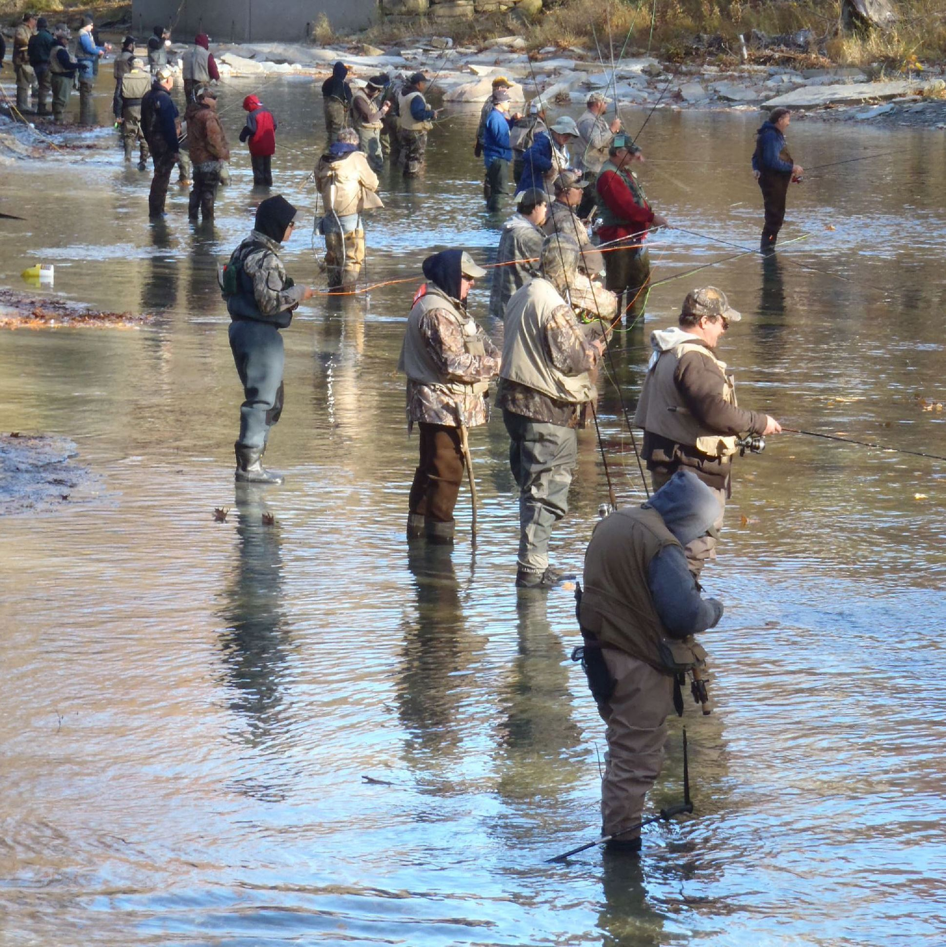 Inland angling catching on in area pittsburgh post gazette for Fishing in pittsburgh