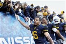 For Mountaineers cornerback Terrell Chestnut, No. 16, football provided a release for the hardships he faced in his troubled childhood.