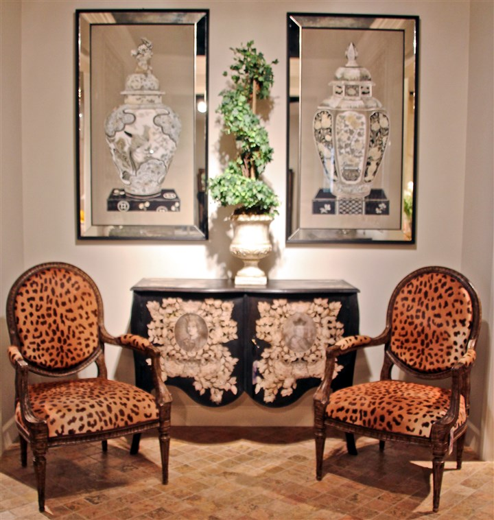 Home Decor Pittsburgh: Seeing Spots: Leopard Prints Leap Back Into Home Decor