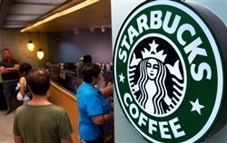 Starbucks will open at the Pittsburgh International Airport in two locations: The baggage claim shop will open Dec. 16 and the Airside location Dec. 28, said Corey Williams, district director for HMSHost.