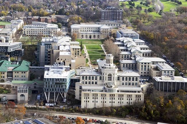 Carnegie Mellon campus.