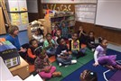 Students in an Allegheny Intermediate Unit head start classroom recite their letters and numbers this morning.