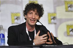"The upcoming Starz series ""American Gods"" is based on the fantasy novel of the same name by Neil Gaiman, pictured."
