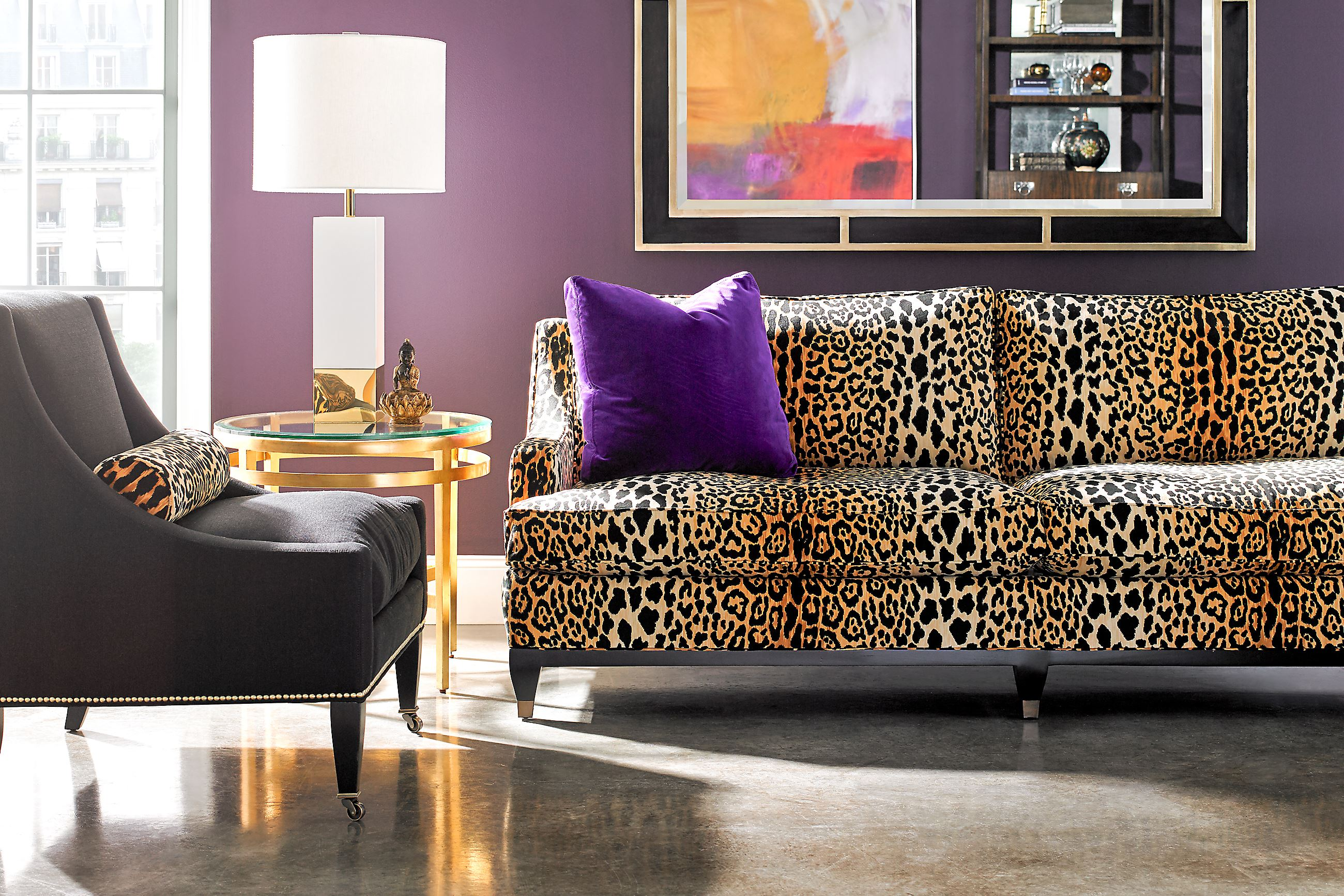 Seeing Spots Leopard Prints Leap Back Into Home Decor Pittsburgh Post Gazette
