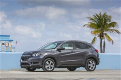 The 2016 Honda HR-V is a small crossover slightly smaller than the CR-V, and part of a hot new vehicle segment.