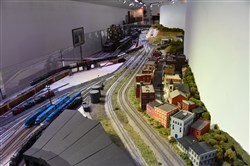 The tracks at the Western Pennsylvania Model Railroad Museum begin at Pittsburgh before going to the J&L Steel Mill before eventually ending in Cumberland, Md. Everything in the model is set during 1953.