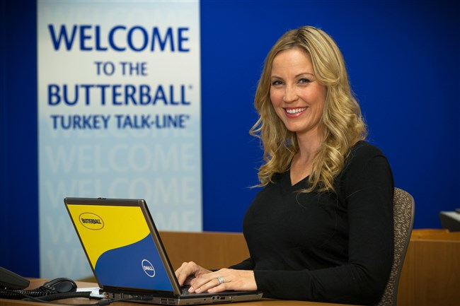 Nicole Johnson, co-call director of Butterball Turkey Talk-Line.
