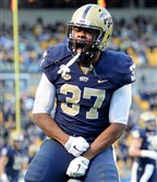 Pitt running back Qadree Ollison is not a lock to be at the top of the depth chart when the Panthers open the season in the fa..