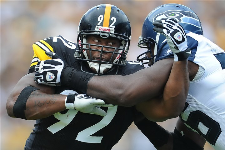 9ej00kjx.JPG James Harrison has one year remaining on a contract that will count $1.5 million against the 2016 salary cap.