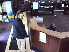 This is the surveillance footage of the man Allegheny County police suspect in the robbery of the First Commonwealth Bank at 500 E. Waterfront Drive in Homestead. The bank was robbed  Tuesday at approximately 11:15 a.m.