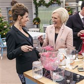 """The Great Holiday Baking Show,"" with Nia Vardalos, left, and Mary Berry, premieres at 10 p.m. Monday on ABC."