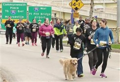 Thousands of Pittsburghers and out-of-towners took part in the annual Turkey Trot races this morning.