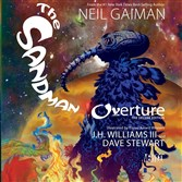 "The cover of Vertigo's ""The Sandman: Overture Deluxe Edition,"" written by Neil Gaiman with art by J.H. Williams III."