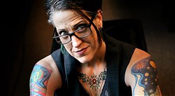 Nadia Bolz-Weber is the pastor at the House for All Sinners and Saints, a mission congregation of the Evangelical Lutheran Church in America in Denver, Colo.
