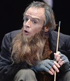 "James Fitzgerald as Fagin in PICT's production of ""Oliver Twist"" last fall."