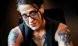 Nadia Bolz-Weber: the pastor at the House for All Sinners and Saints, a mission congregation of the Evangelical Lutheran Church in America in Denver, Colo.