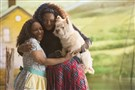 "Stephanie Mills, left, portrays Auntie Em and Shanice Williams is Dorothy in ""The Wiz Live!"" airing Thursday night on NBC."