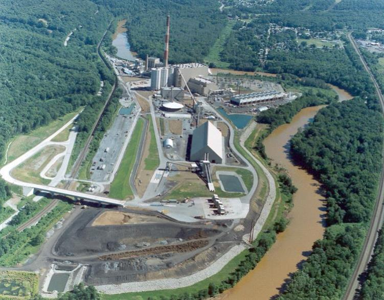 Seward Power Plant in New Florence, Pa. The 525 megawatt plant burns waste coal supplied by Robindale Energy, which is buying the facility from NRG Energy.