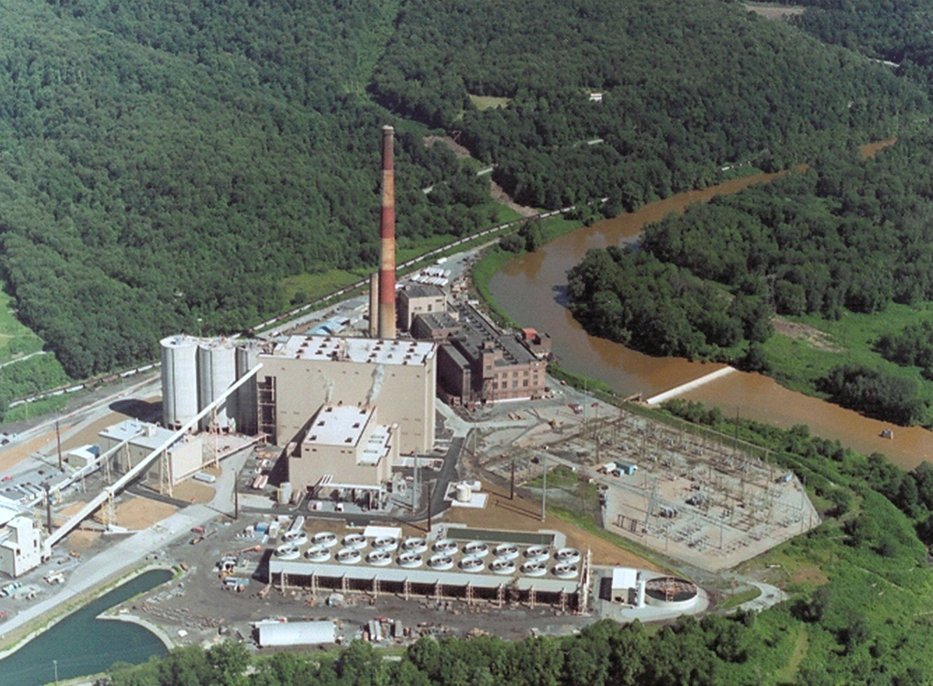 Seward Power Plant in New Florence The 525 megawatt waste coal plant built in 2004.