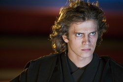 "Hayden Christensen plays troubled young Jedi Anakin Skywalker in ""Star Wars: Episode III Revenge of the Sith."""