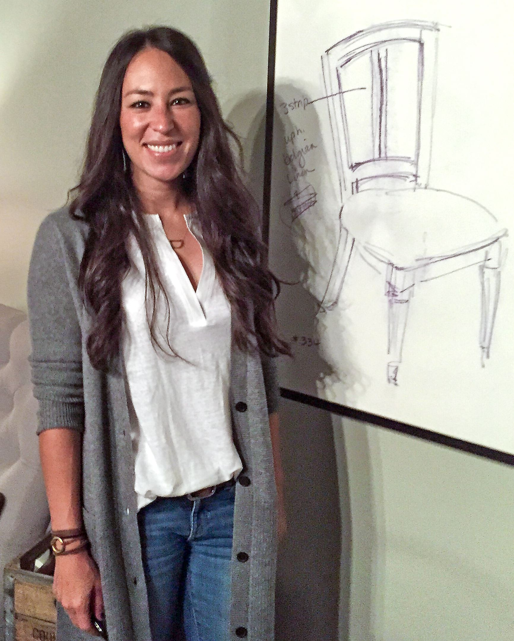 hgtv 39 s 39 fixer upper 39 host introduces furniture line