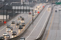 The HOV lanes will close at 9:30 a.m.
