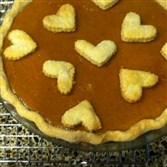 Eggnog Pumpkin Pie.