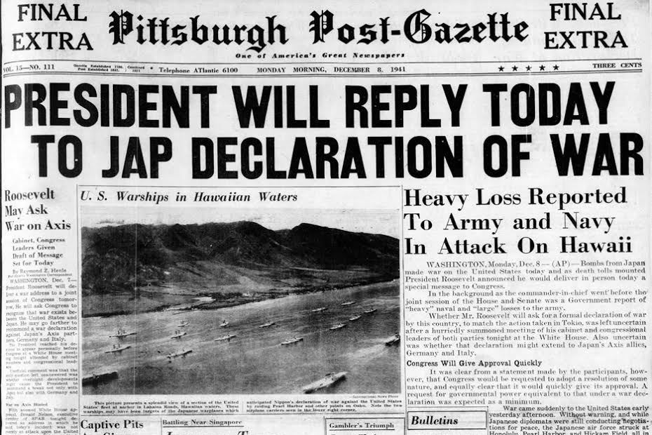 changes in society post pearl harbor The role of pearl harbor attack in the history of the united states of america   pearl harbor naval base, hawaii, was attacked by japanese torpedo and  bomber planes on  several investigations were conducted shortly after the  attack.