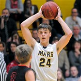 Mars sophomore Robby Carmody has a number of major colleges courting him.